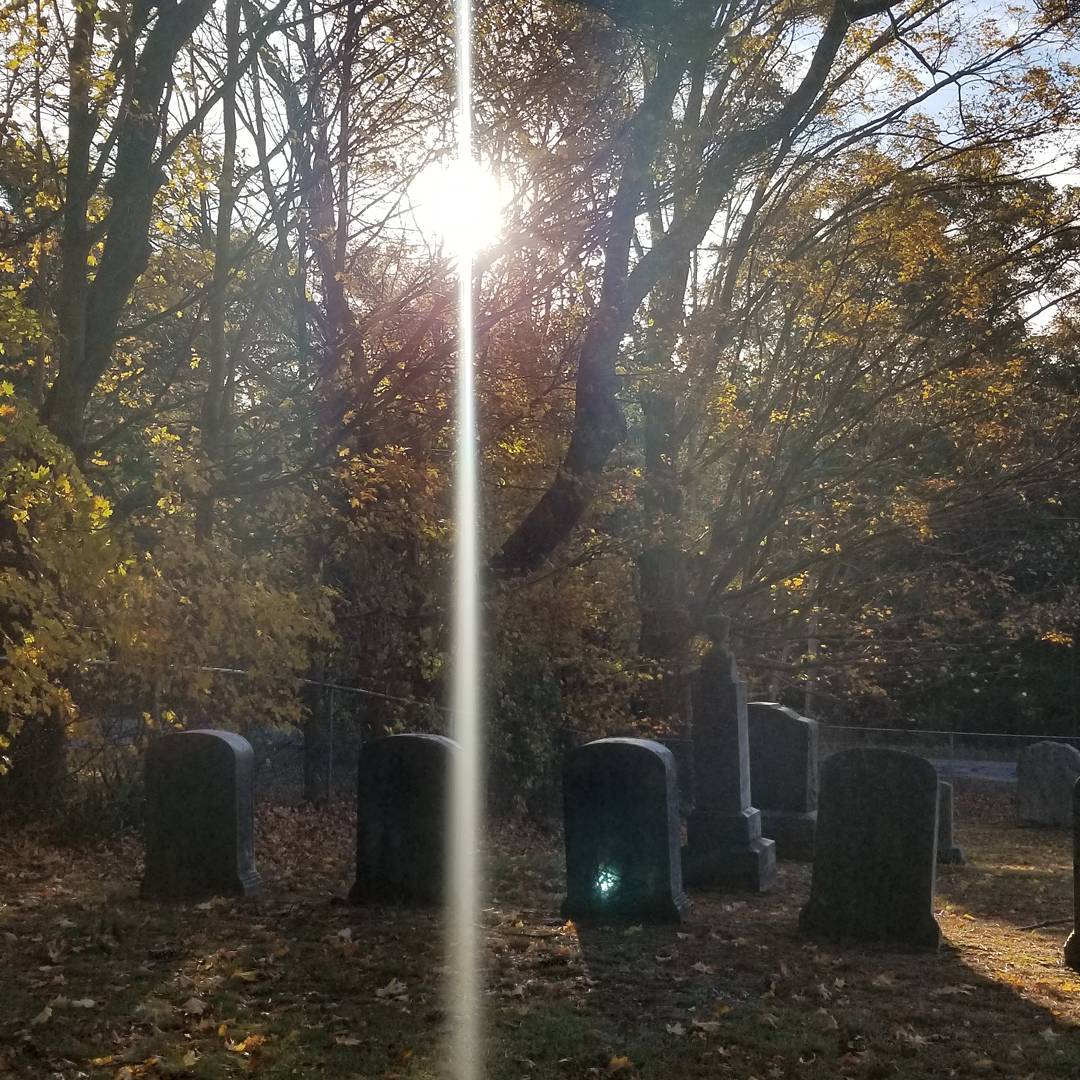 Cemetery with Sunlight