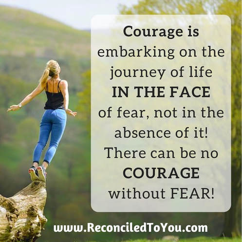 Courage Graphic