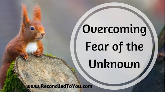 Overcoming Fear of the Unknown Graphic