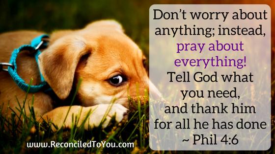 Phillipians 4:6 graphic