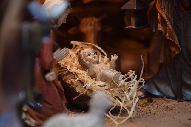Child Jesus in a Manger