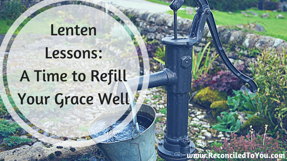 A Time to Refill Your Grace Well Graphic