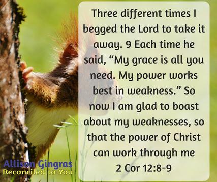 2 Cor 12:8-9