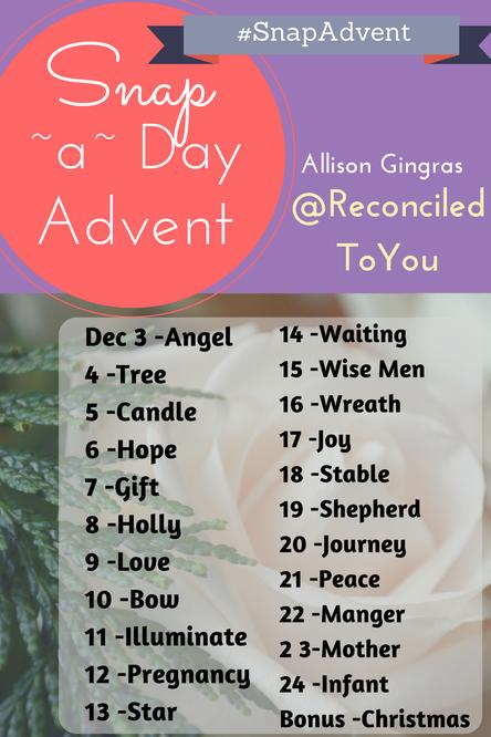 Snap Advent list
