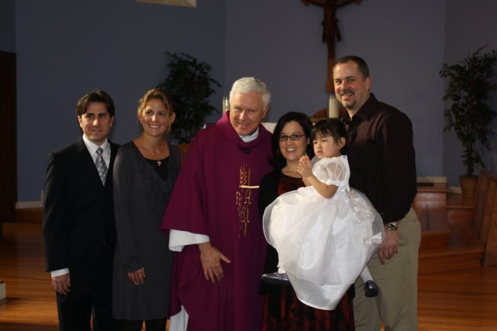 Faith's baptism