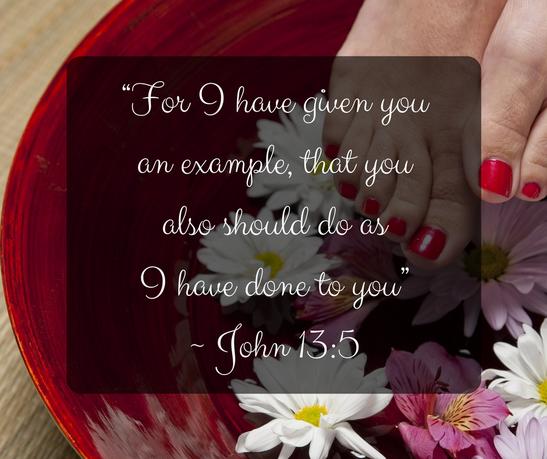 John 13:5