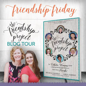 Friendship Project Blog Tour Graphic