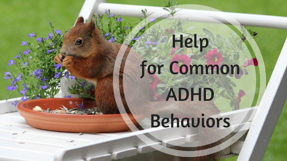 Help for common ADHD behaviors
