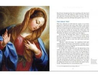 Inside page of Queen of Heaven