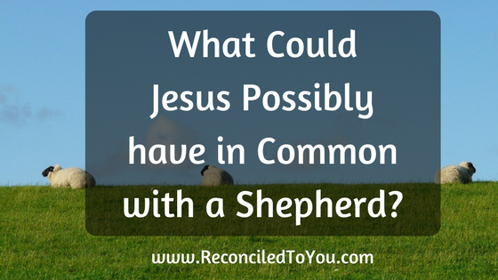What Could Jesus Have In Common with a Shepherd?