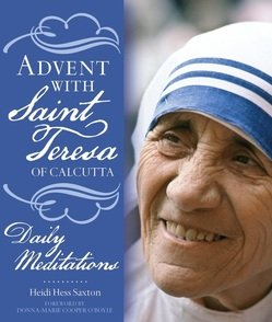 Advent with St. Teresa book cover