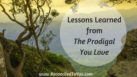 Lessons from the Prodigal You Love