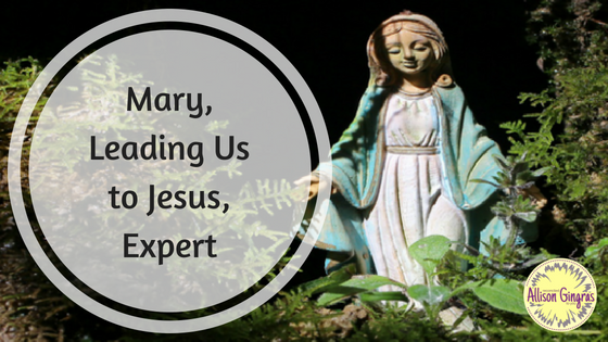 Mary Leading Us to Jesus