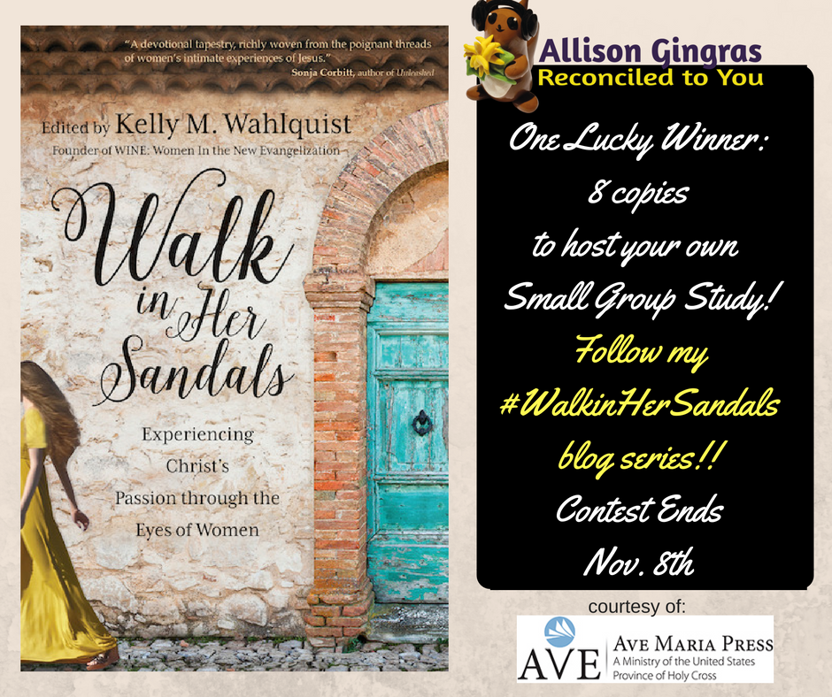 Walk in Her Sandals Book Contest