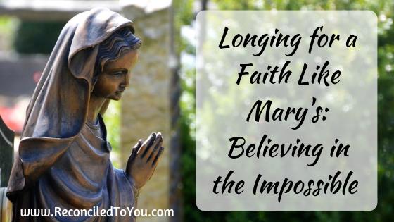 Mary Statue Praying