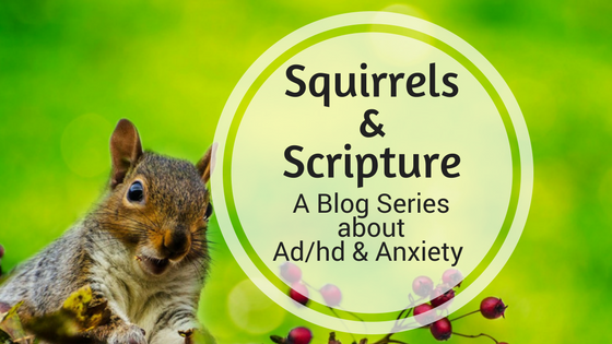 Squirrels & Scripture: How I Cope with Ad/hd & Anxiety