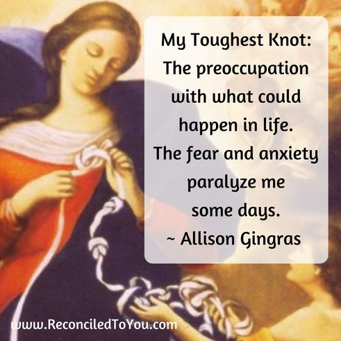 Mary Undoer of Knots Image