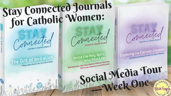 Stay Connected Journals for Catholic Women:  Social Media Tour (Week One)