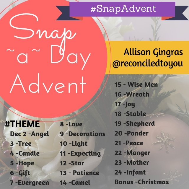 Advent Photo Challenge #SnapAdvent