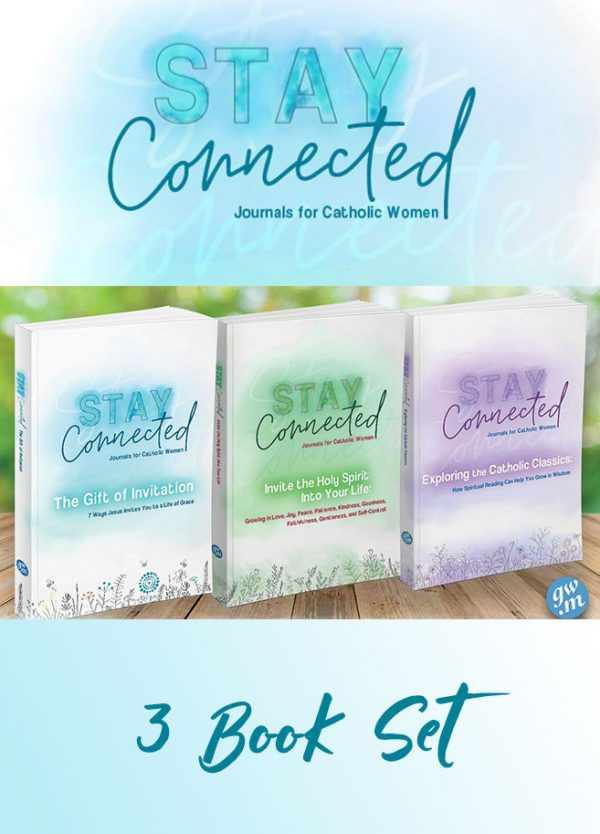 Stay Connected Journals 3 Book Set