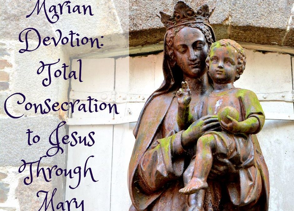 Growing Closer to Jesus via His Mama, Mary — a Virtual Marian Consecration