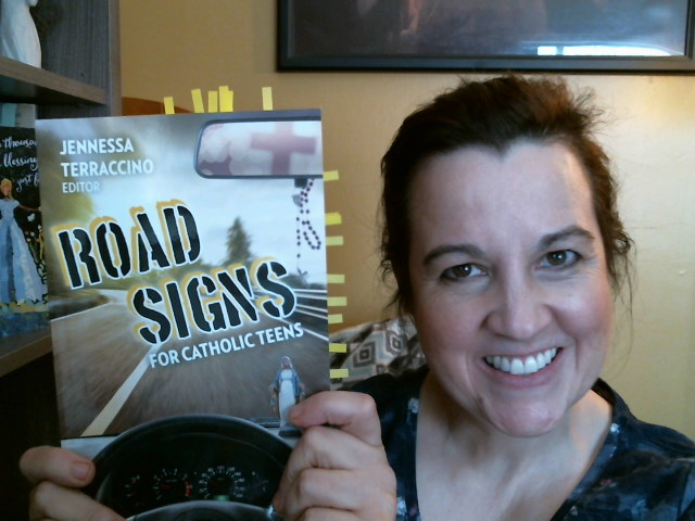 A Seeking Heart with Allison Gingras featuring Road Signs for Catholic Teens (OSV)