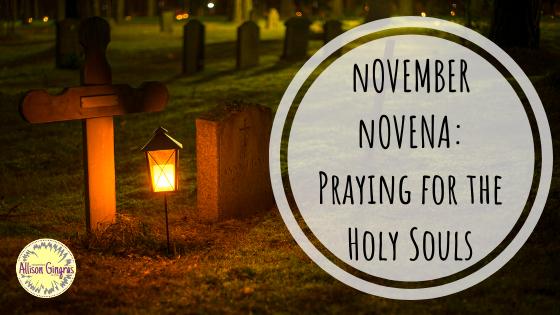Praying for Holy Souls