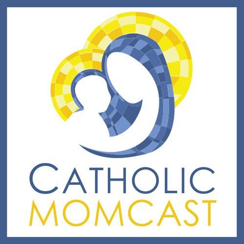 Catholic Momcast Logo from catholicmom dot com