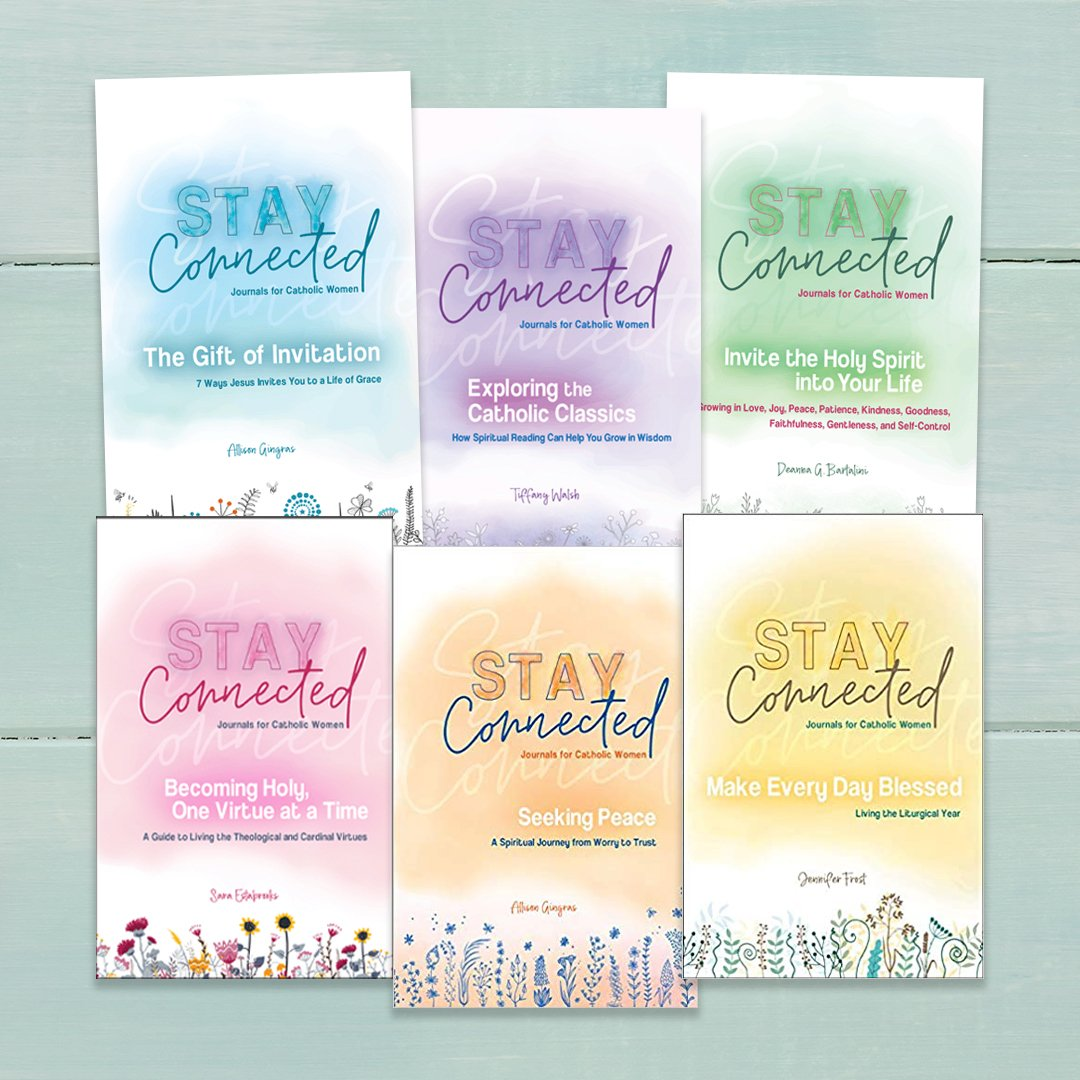 Book Covers for All Six Stay Connected Journals