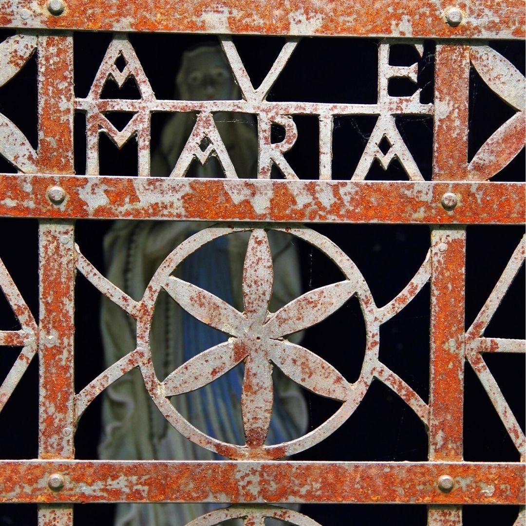 Grace Catholic Ave Maria Blessed Mother